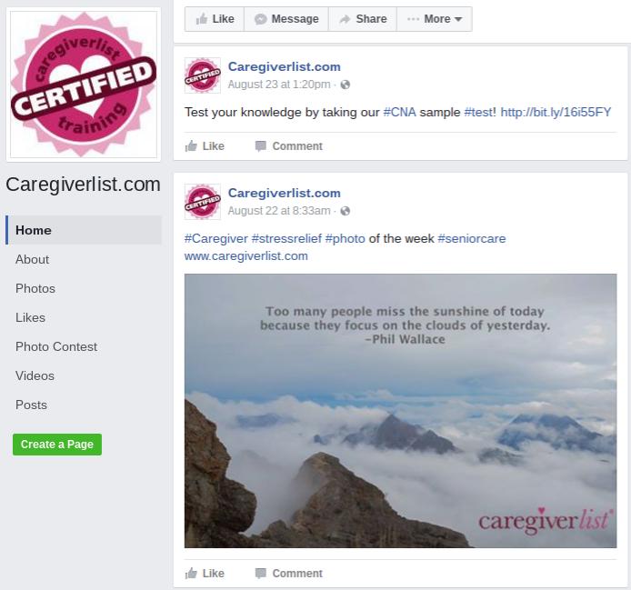 caregiver certification california » Free Professional Resume ...